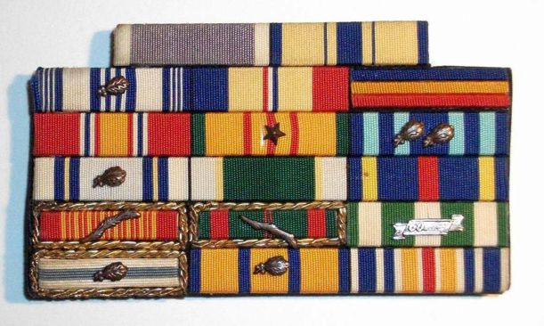 Nevada National Guard Ribbon Rack