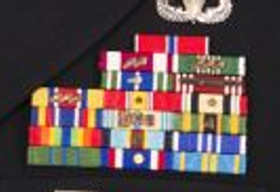 Kansas ARNG ribbon rack