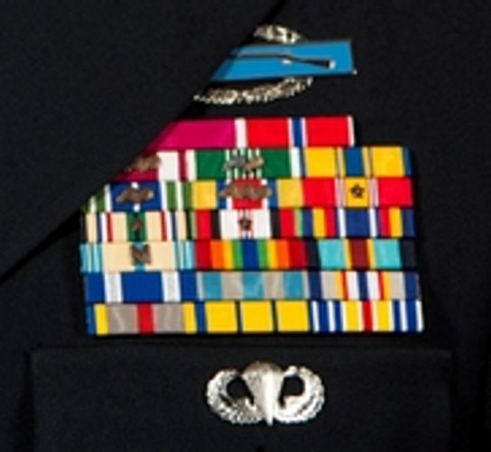 Nevada ARNG Ribbon Rack
