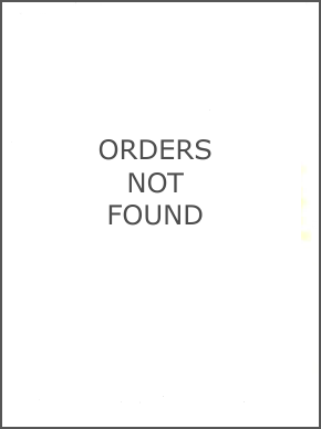 Orders Not Found