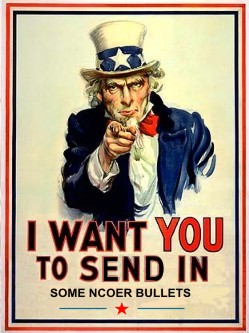 Uncle Sam wants YOU to contribute to ArmyWriter.com