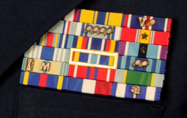 South Carolina Air National Guard ribbons