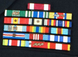 Tennessee ARNG ribbon rack