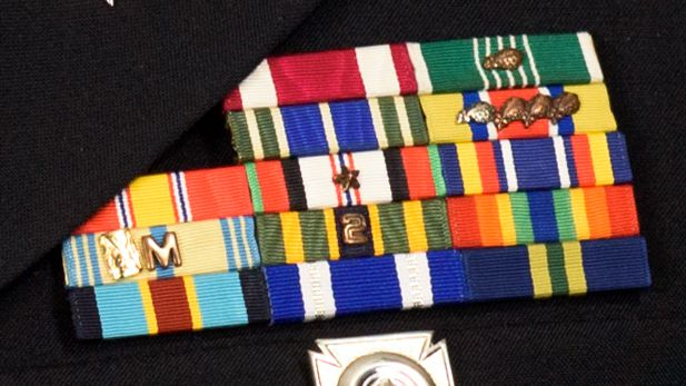 Alaska ARNG ribbon rack