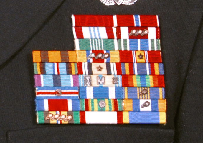 Indiana ARNG ribbon rack